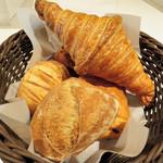 オテル・ド・カイザー - 購入したパン