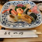 寿司一心 - 上にぎり