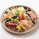 レストラン アオヤマ - 9種のオードブルセット 4500