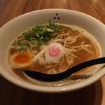 みつ星製麺所 - 和風ラーメン(720円、斜め上から)