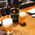 さくら家 - ビール中瓶