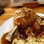 カレー倶楽部ルウ - ぼんちザウルスの肉
