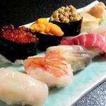 寿司万 - 特上握り 2200円