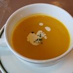 パティオ - カボチャのスープ。おかわりしたいくらい