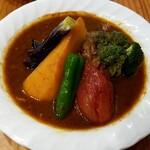 スープカレー カムイ - チキン野菜カレー:1,089円