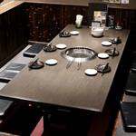 味樹園 - 掘りごたつ式テーブル席