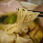 らーめんシゲトミ - 細麺