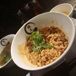 鏡花 - 汁なし担々麺(スープ付)