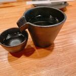 焼鳥の快獣 - 日本酒(獺祭)1合