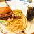 J.S. BURGERS CAFE - 料理写真:ランチセット・モンスターポンドバーガー 1782円(税込)【2020年6月】