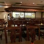 南インド料理ダクシン - 店内の様子です