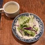 七つ森 - スープとサラダ