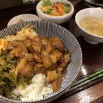 大連餃子基地DALIAN - ルーロー飯