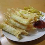 小笠原食堂 - チーズ揚げ