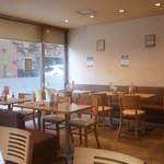 カフェ・ハッピーアベニュー - 落ち着いた雰囲気です