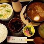 さくら亭 - 料理写真:煮込みハンバーグ定食