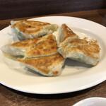 ぎょうざの店 黄楊 - 餃子