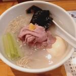 真鯛らーめん 麺魚 - 特製真鯛ラーメン¥1170