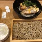 中村麺兵衛 - 〇厚みかつ丼とそば890円