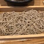 中村麺兵衛 - △そばはちょっと固め