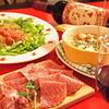 オステリアアルバ - 料理写真:生ハム・サラミミスト。 ミラノ風カツレツ。。