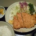 乾山 - ロースカツランチ定食