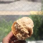 オモテナシャモジ - ミルクティーアイスクリーム