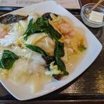 Tempujou - 海鮮あんかけ焼きそば
