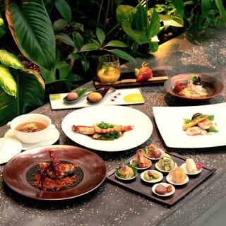 旬の食材にこだわる本格中華料理をコースでお愉しみください