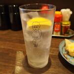 大衆酒場ヒロタヤ2号 - ヒロタヤレモンサワー
