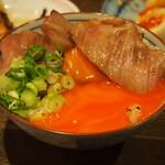 大衆酒場ヒロタヤ2号 - 黒毛和牛三角バラの煮込み飯