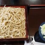 手打ちそば・うどん みち庭 - 料理写真:セイロ(770円)
