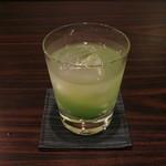バー 茶蔵 - 2012/初夏限定「新緑」です。