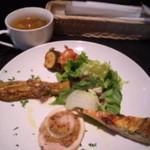 13306812 - 前菜とスープ