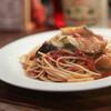 タルボット - 料理写真:タコとナスとトマトのジェノバ風☆