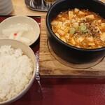 Mabosemmontenchinsan - 四川麻婆豆腐定食