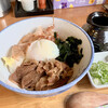 山もみじ - 料理写真:肉玉ぶっかけ・温