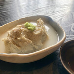 ふくね - 料理写真:蕎麦がき