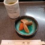 すきやばし次郎 - 小鉢 (煮しめ)