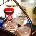料亭 秀 - 日本酒、焼酎、ビールなどお酒も豊富に取りそろえて