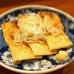 蕎麦 ろうじな - 京あげ焼き