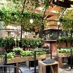 青山フラワーマーケット ティーハウス - テーブル席