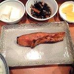 お菜処 ゆう - ランチ 生鮭照焼定食