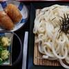 太昌うどん - 料理写真:ざるうどん+いなり