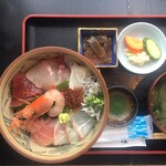 お食事処 海雅 - 海鮮丼