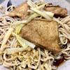 角萬 - 料理写真:いつもの冷やしきつね(大)です いつも美味しいすごい蕎麦です