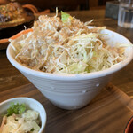 のうえんカフェ - 【2020.7.2】サラダも大盛り‼️