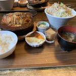のうえんカフェ - 【2020.7.2】ロールキャベツグラタンセット1100円