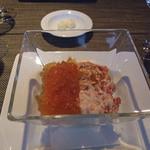 13308014 - タラバ蟹とトマトのサラダ