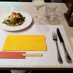 レストラン セゾン - 先行。